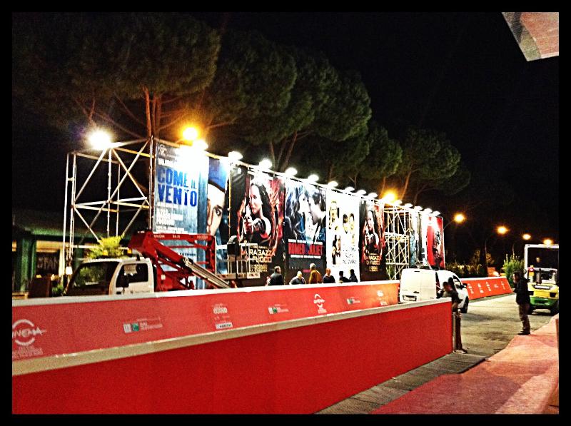 RomaCinemaFest 2013 - Promenade: affissioni notturne  © MaSeDomani