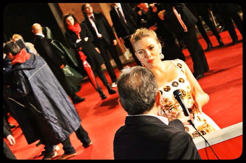 Scarlett Johansson sul Red Carpet © Biffblognews