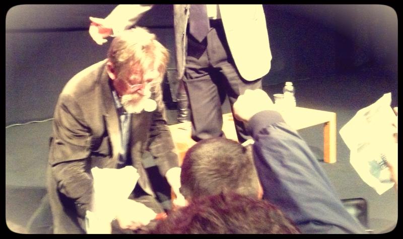 John Hurt incontra il pubblico © MaSeDomani