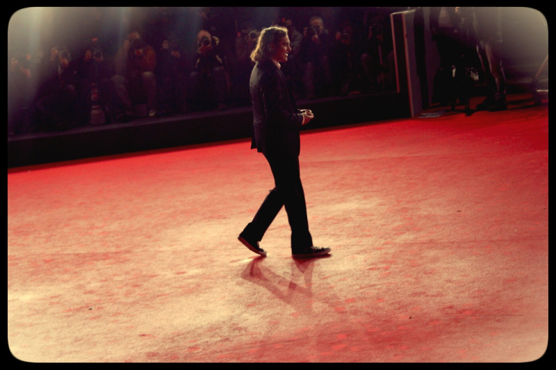 Joaquin Phoenix sul Red Carpet © Biffblognews