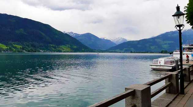 lago zell am see icona