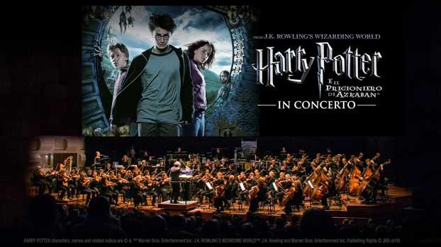 Harry Potter e il Prigioniero di Azkaban concerto Milano locandina orizz