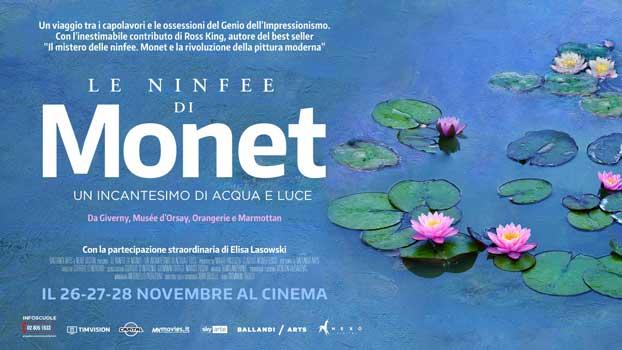 Le ninfee di Monet banner
