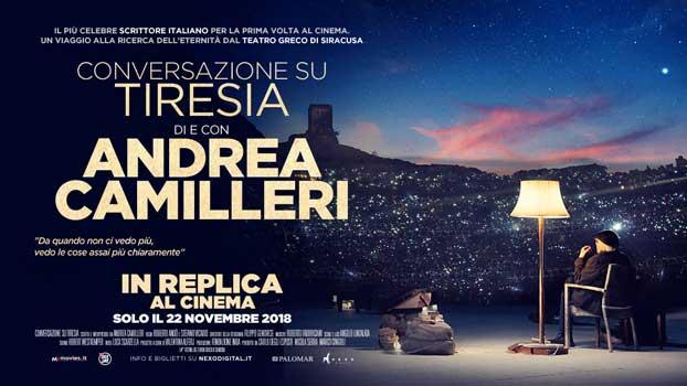 Conversazione su Tiresia di e con Andrea Camilleri banner replica