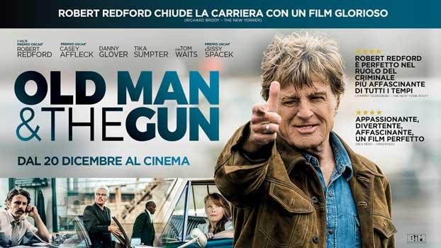 film Old Man & the Gun banner