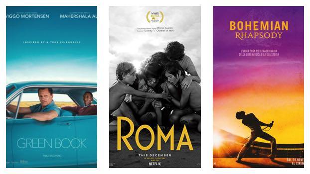 oscar 2019-locandine film vincitori