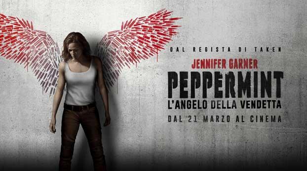 Peppermint banner film
