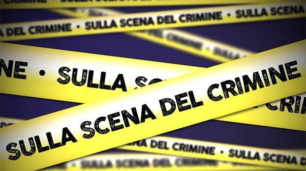 sulla scena del crimine banner