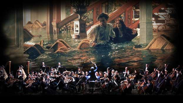 un'immagine dello spettacolo Titanic Live