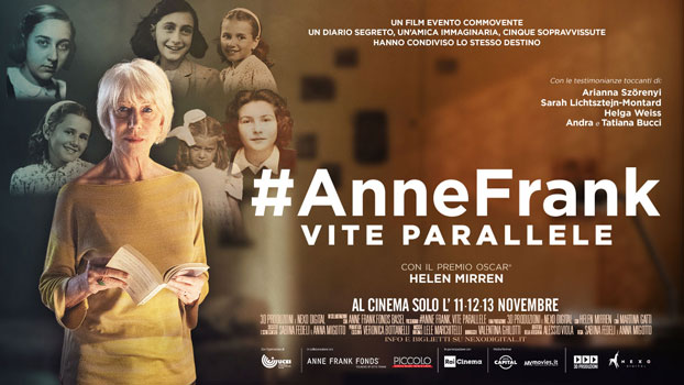 #AnneFrank Vite Parallele al cinema