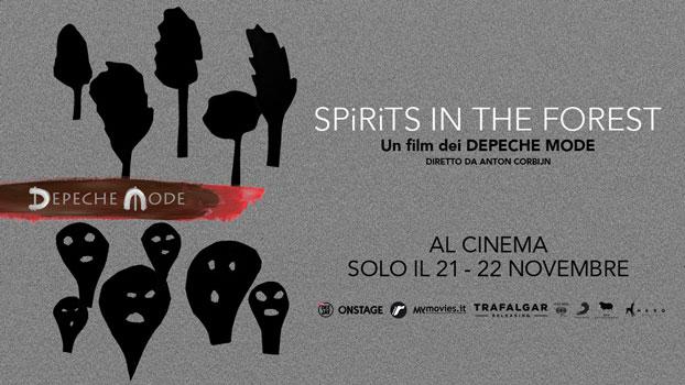 Depeche Mode Spirits in the Forest arriva al cinema!