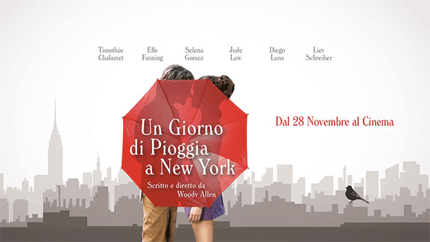 Un Giorno di Pioggia a New York banner film