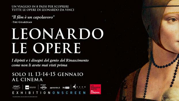 LEONARDO LE OPERE banner film