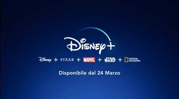 Disney Plus arriva il 24 marzo!