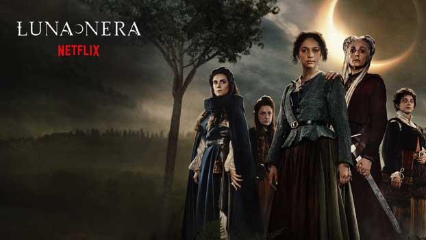 Luna Nera Netflix banner