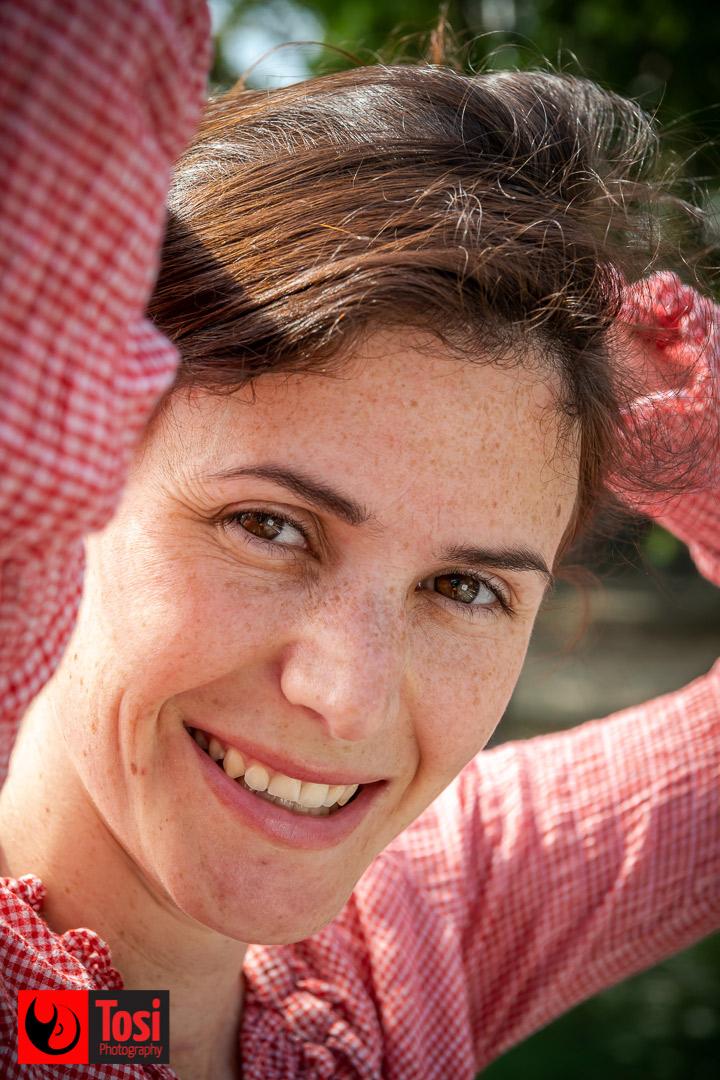 Justine de Gasquet, regista del film The De Facto Martyr Suite © Tosi Photography.