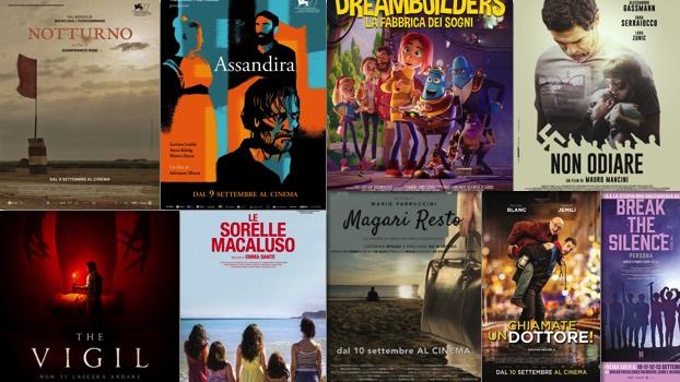film al cinema 10 settembre