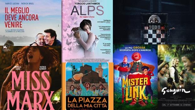 i film al cinema dal 17 settembre