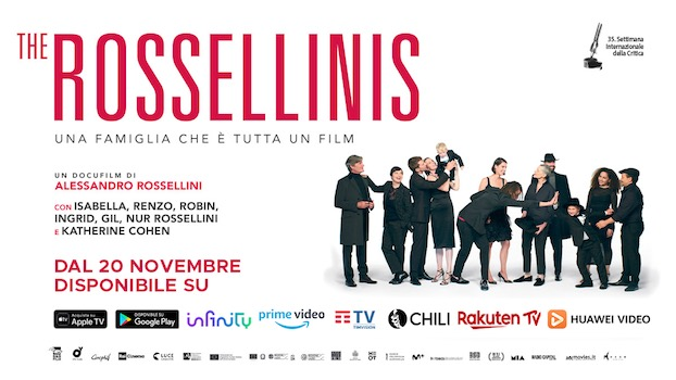 The Rossellinis poster orizzontale