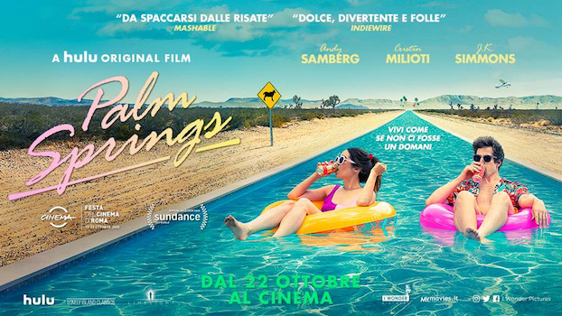 Palm Springs banner film