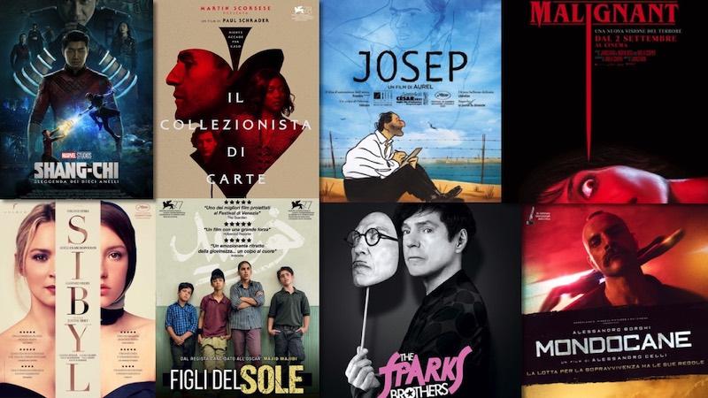le novità al cinema dal 2 settembre
