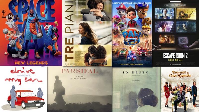 film in uscita al cinema il 23 settembre 2021